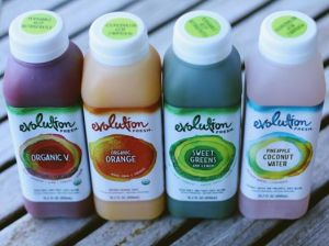 Evolution Cold-Pressed Juices