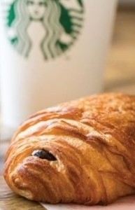 Starbucks La Boulange Chocolate Croissant