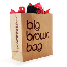 Bloomingdale's Big Brown Bag