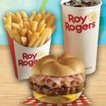 Roy Rogers Burger Meal