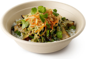 ShopHouse Asian Kitchen rice bowl