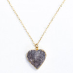Valerie Nahmani Druzy necklace
