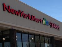 New York Mart storefront