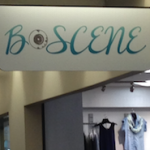 B Scene sign