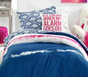 Dormify blue bedding