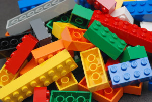 Lego bricks reduced