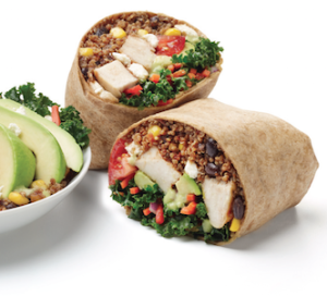 California Tortilla Super Food Burrito 2