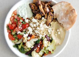 Roti salad