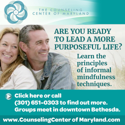 Counseling Center of Maryland ad: www.counselingcenterofmaryland.com