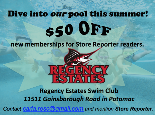 Regency Estates Swim Club membership discount ad: http://rescswimpool.org