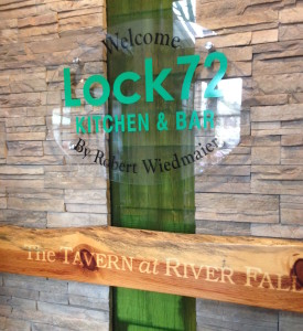 Lock 72 Kitchen & Bar sign