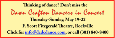 Dawn Crafton Dancers in Concert ad