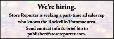 2016 Store Reporter sales rep ad