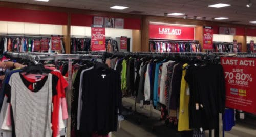 Macy's Last Act department at Montgomery Mall