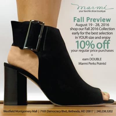 Marmi Shoes Fall Preview ad: https://marmishoes.com