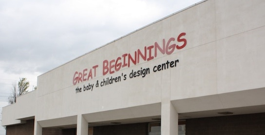 Great Beginnings sign