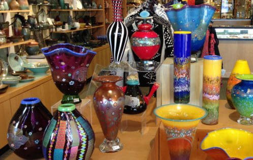 Vases at Appalachian Spring
