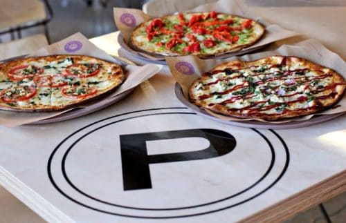Pizzas from Pieology
