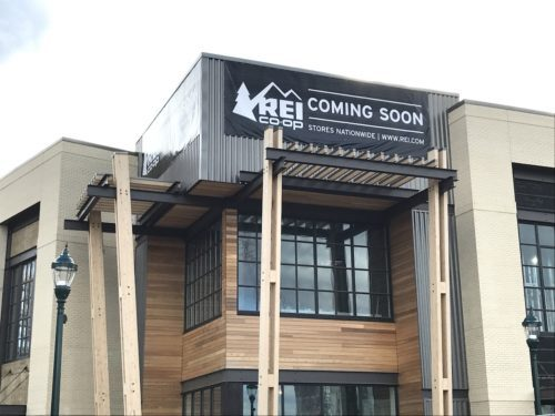 REI store at Pike & Rose