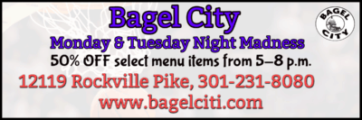 Bagel City in Rockville: http://bagelciti.com