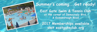 East Gate Swim & Tennis Club: https://www.teamunify.com/Home.jsp?team=recpveggstmd