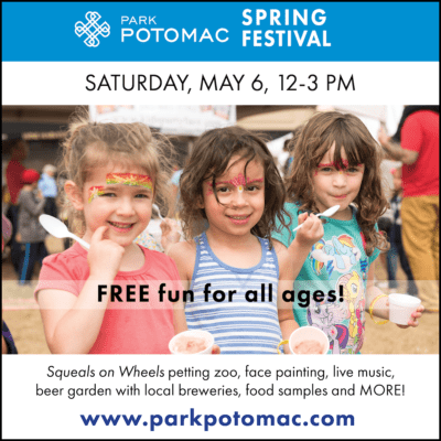 Park Potomac Spring Festival: https://www.facebook.com/events/1799339983727011/