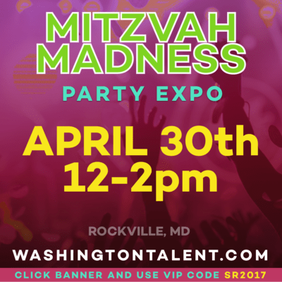 Washington Talent Mitzvah Madness: http://washingtontalent.com/mitzvahmadness
