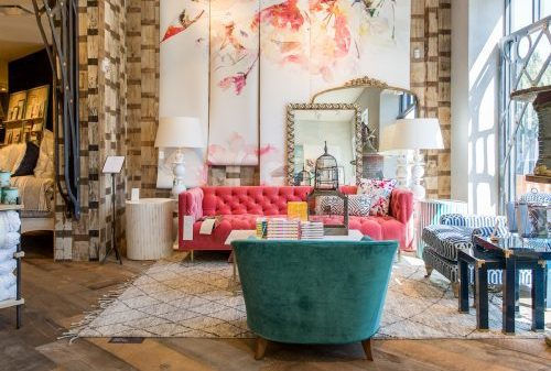 Anthropologie showroom