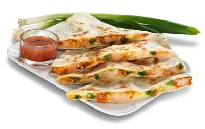 Quesadillas from California Tortilla