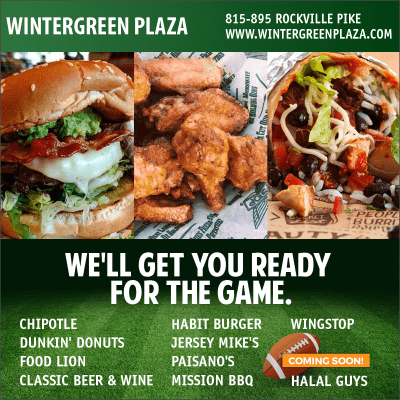 Game-Day Foods at Wintergreen Plaza: http://www.wintergreenplaza.com