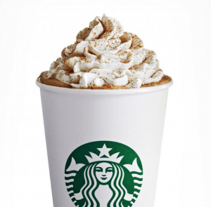 Pumpkin Spice Latte from Starbucks