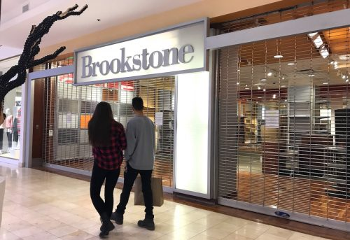 Brookstone closed at Westfield Montgomery Mall