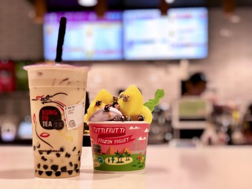 Kung Fu Tea and Tutti Frutti at Pike & Rose