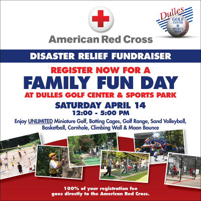 American Red Cross Dulles Golf Center fundraiser
