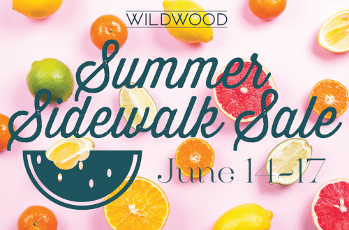 Wildwood Summer Sidewalk Sale