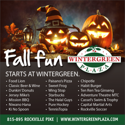 Fall fun at Wintergreen Plaza: http://www.wintergreenplaza.com