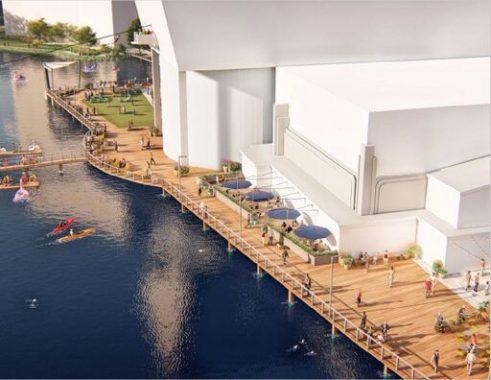 Rio Washingtonian lakefront renovation
