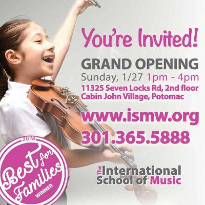 International School of Music at Cabin John Village