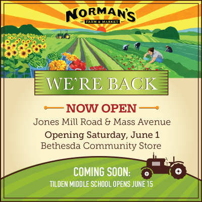 2019 Norman's We're Back May ad
