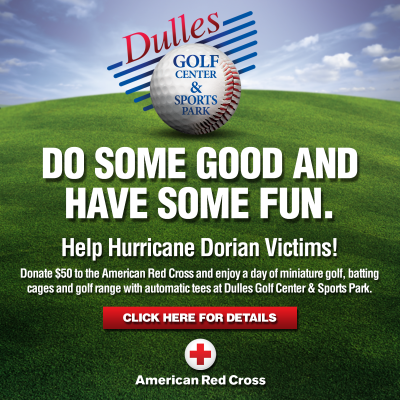 Dulles Golf Center Red Cross fundraiser