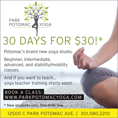2019 Park Potomac Yoga 30 Days for $30