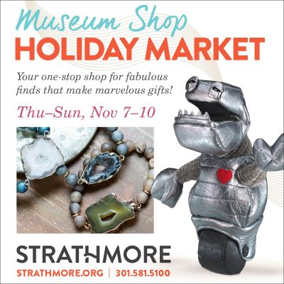 Strathmore Museum Shop Holiday Market