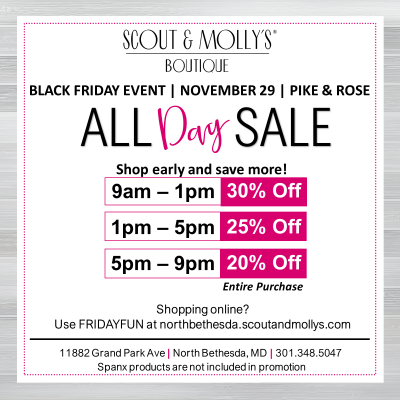 2019 Scout & Molly's Black Friday