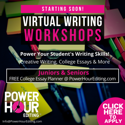 Power Hour Editing Virtual Workshops