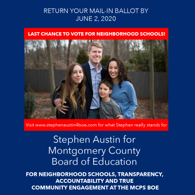 Stephen Austin for Montgomery County Board of Education