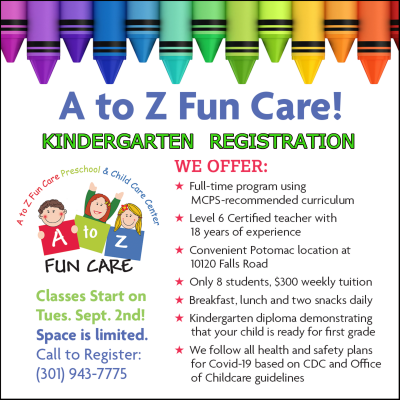 At to Z Funcare Kindergarten Registration