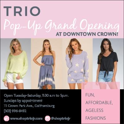Trio Pop-Up